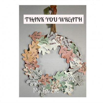 Thank You Wreath
