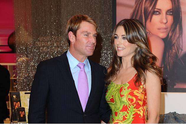 Elizabeth Hurley Launches Her New Bed Linen Collection