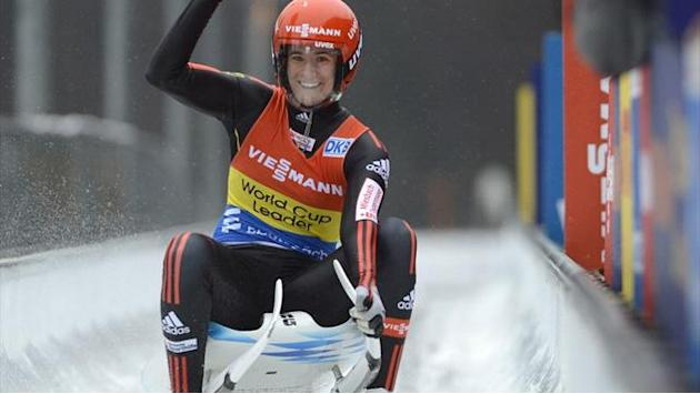 Luge - Geisenberger claims European title as Germany dominate