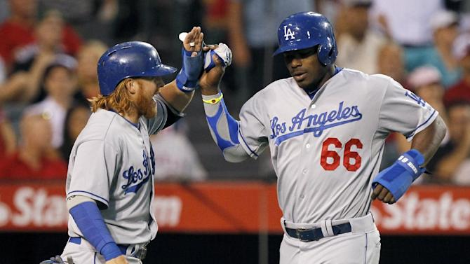 Ryu pitches Dodgers past Angels 7-0 to win series