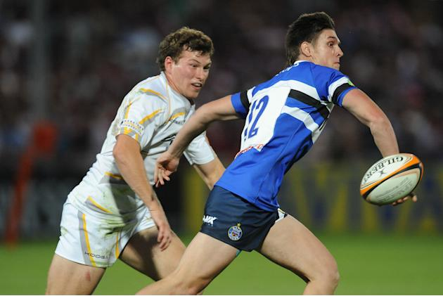 Rugby Union - J.P. Morgan Asset Management Premiership Rugby 7s - Group A - Bath Rugby 7's v Worcester Warriors 7's - Kingsholm