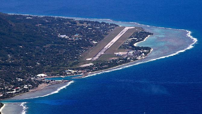 Airport authorities in the Cook Islands have warned thrillseekers to stay away from their runway's jet blast zone after three tourists were injured when a plane was taking off