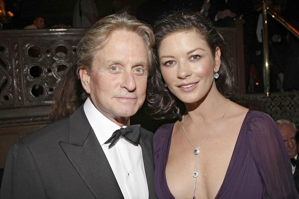 Michael Douglas Catherine Zeta Jones 2008