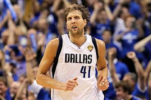 Nowitzki dismisses insult eve of Game 6