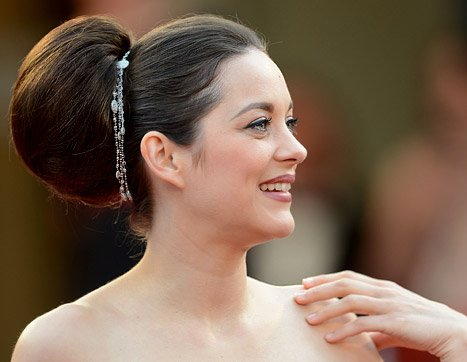 Marion Cotillard's Giant Bun:&nbsp;&hellip;
