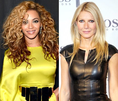 Beyonce Knowles; Gwyneth Paltrow