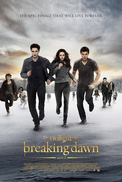 Best and Worst Movie Posters 2012 The Twilight Saga: Breaking Dawn Part 2