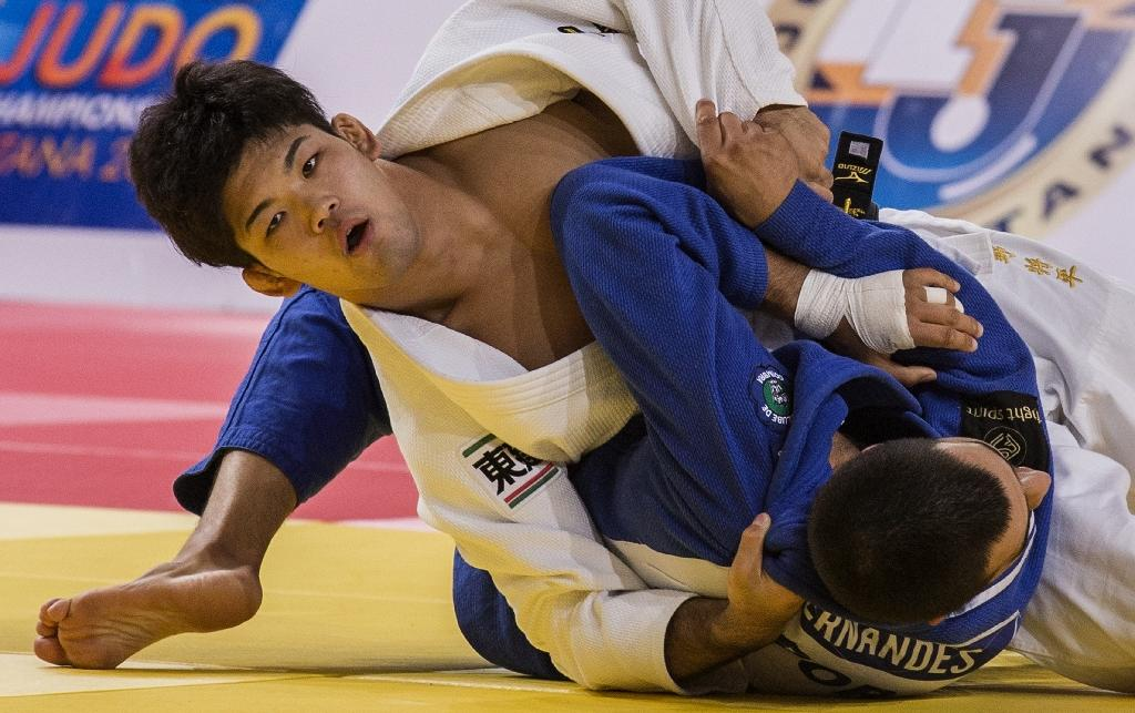 Double delight for Japan at judo worlds
