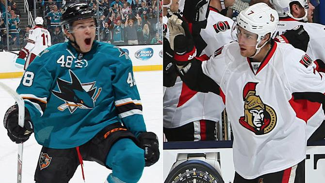 The Front Line: Turris, Hertl among fast starters