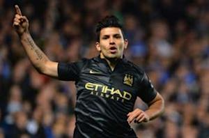 Aguero looks to diffuse Maradona row
