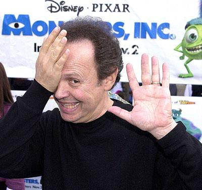 Billy Crystal at the Hollywood premiere of Monsters, Inc.