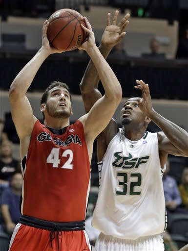 Collins has 17, South Florida beats Georgia 64-53