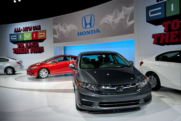 2012 Honda Civic scores too low a rating to be recommended by Consumer Reports.