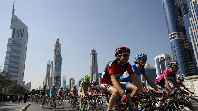 Kittel wins 3rd stage, Phinney still leads Dubai
