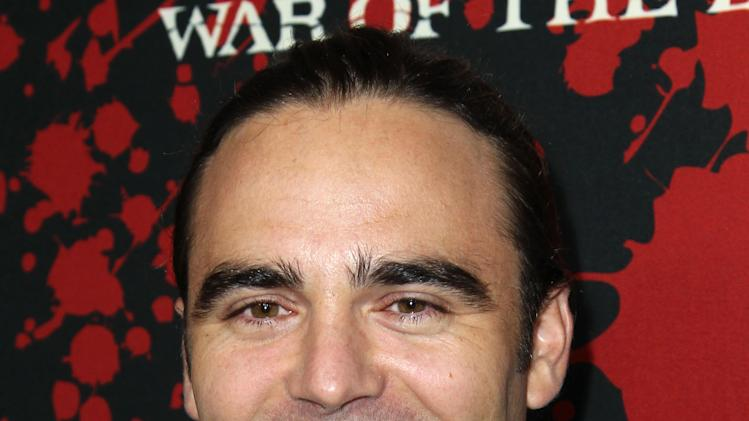 "Dustin Clare arrives at the premiere of ""Spartacus: War of the Damned"" on Tuesday, Jan. 22, 2013 in Los Angeles. ""Spartacus: War of the Damned"" premieres Friday, Jan. 25 at 9PM on STARZ. (Photo by Matt Sayles/Invision for STARZ/AP Images)"