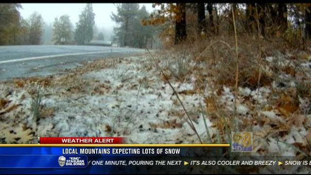 Local mountains expecting lots of snow