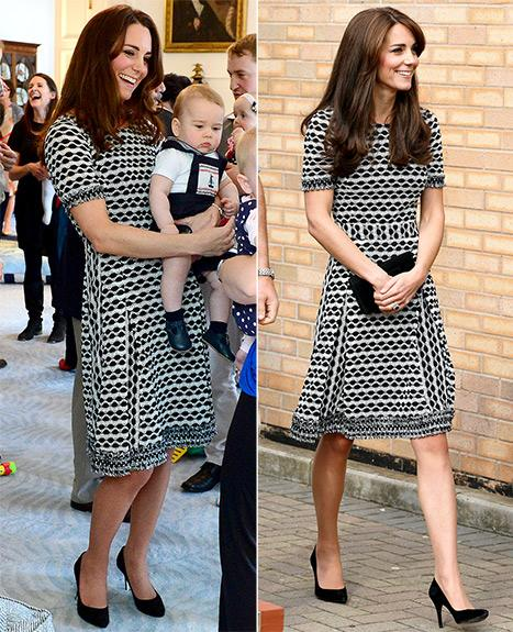 Kate Middleton Recycles the Dress She Wore for Prince George's First Playdate: Look Back at the Sweet Pics!