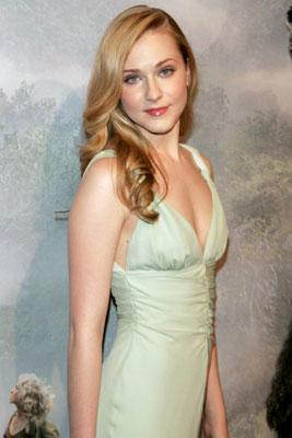 Evan Rachel Wood at the New York premiere of Universal Pictures' King Kong