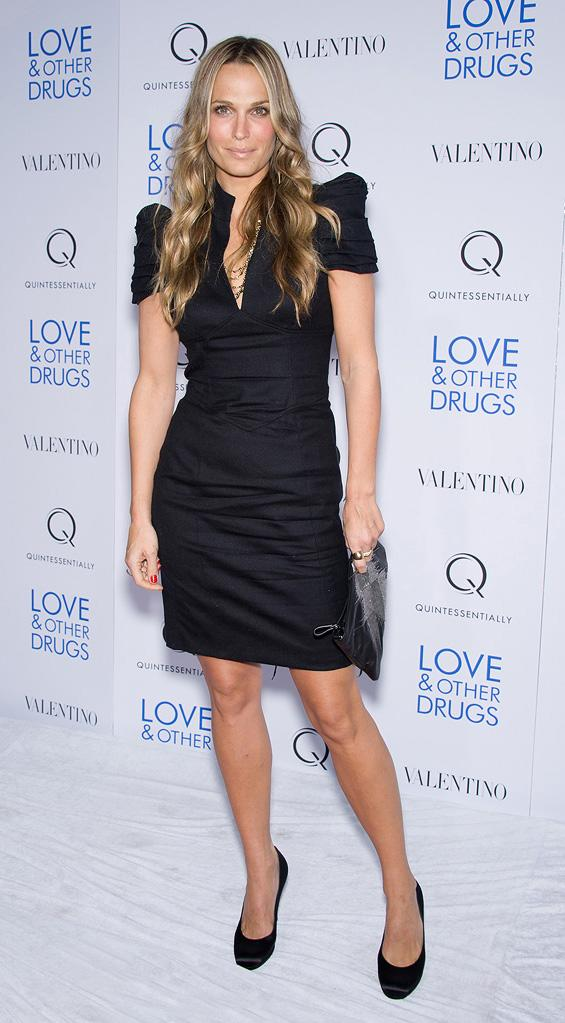 Love and Other Drugs 2010 NYC Screening Molly Sims