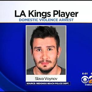 LA Kings' Voynov Suspended, Arrested For Alleged Domestic Abuse
