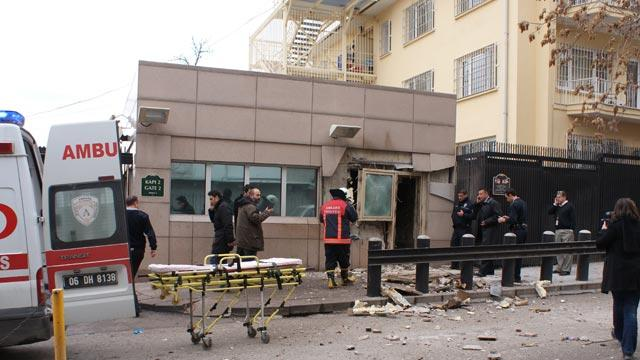 'Terrorist Blast' at US Embassy in Turkey