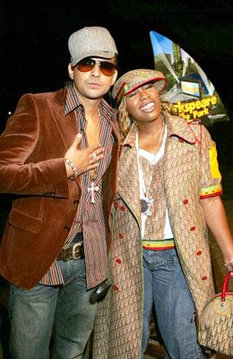 Premiere: Sean Paul and Missy Elliott at the New York premiere of Dreamworks' Shark Tale - 9/27/2004