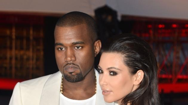 Kanye West and Kim Kardashian attend the 'Cruel Summer' Premiere during the 65th Annual Cannes Film Festival at Palm Beach on May 23, 2012 in Cannes, France -- Getty Images