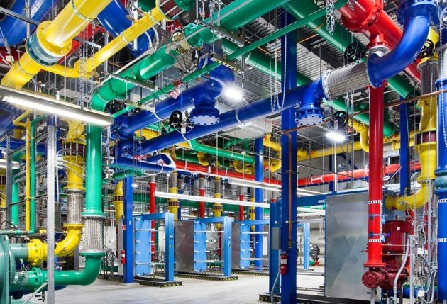 Inside Google&#39;s mystifyingly beautiful data centres