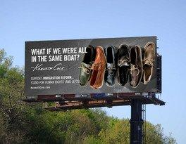 Kenneth Cole Raises Awareness about the Importance of Immigration Reform with the Launch of His New Billboard