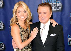 Kelly Ripa: I Don't Keep in Touch With Regis Philbin