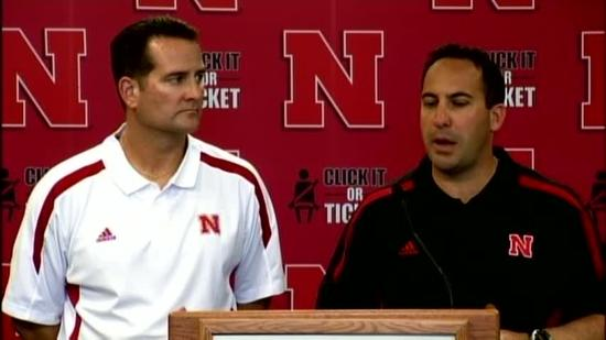 Coaches discuss Pelini's status, game