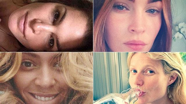 7 Stars Who Took the Most Perfect Makeup-Free Pics in 2014