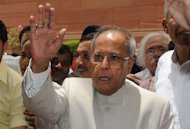 Powerful politician Pranab Mukherjee (pictured in June) looked set to be elected India's new president on Sunday and analysts said the canny veteran could play a key role in steering the nation through testing times