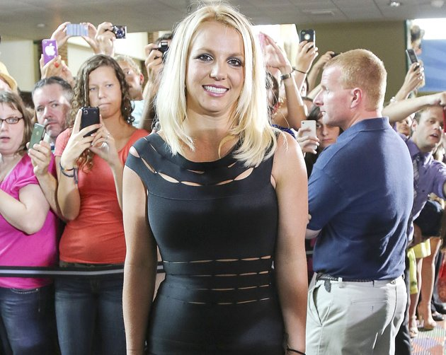 Britney Spears at X Factor auditions