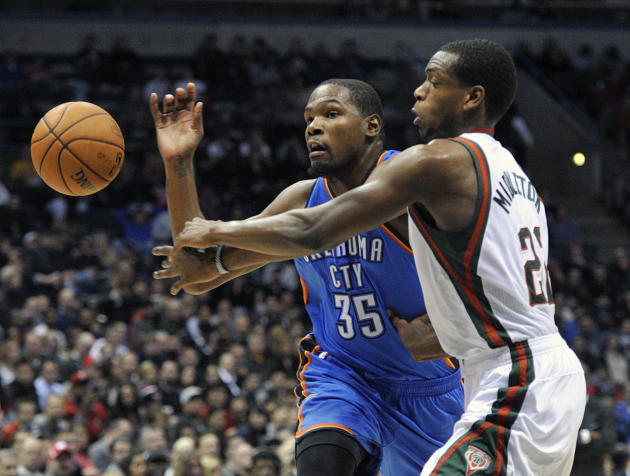 Westbrook scores 26, Thunder beat Bucks 92-79