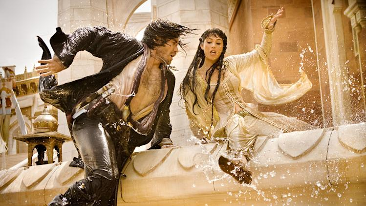 Jake Gyllenhaal Gemma Arterton Prince of Persia: The Sands of Time Production Stills Walt Disney 2010