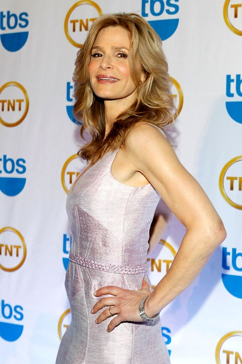 Kyra Sedgwick attends the TEN Upfront presentation at Hammerstein Ballroom on May 19, 2010 in New York City.