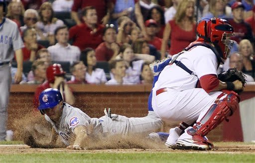 Dempster still winless but Cubs beat Cardinals 6-4