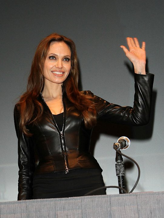 Jolie Angelina Comic Con