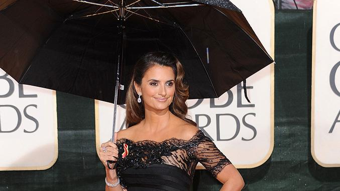 67th Annual Golden Globe Awards 2010 Penelope Cruz
