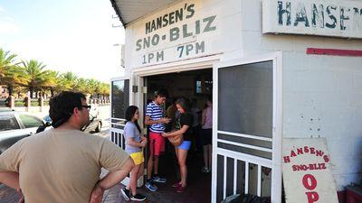 Hansen's Sno Bliz Opens For Season, Now Takes Credit Cards