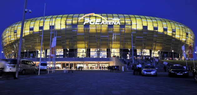 The PGE Arena is pictured prior to the I