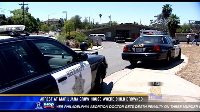6AM UPDATE | Arrest at marijuana grow house where one-year-old drowned