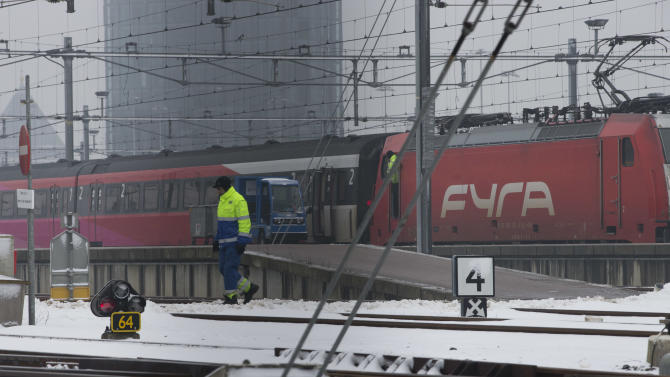 Amsterdam-Brussels high-speed rail link is halted