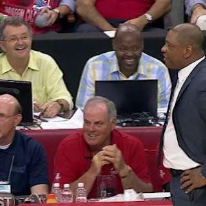 Doc Rivers Taunts the Rockets Fans