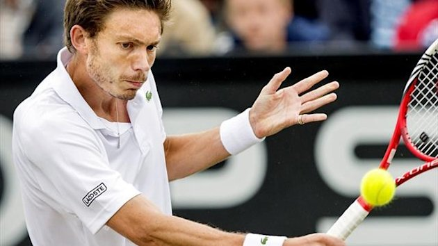 Nicolas Mahut wins in Newport (AFP)