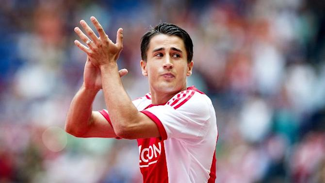 Ajax Amsterdam football club's Bojan Krkic is pictured in the Arena stadium in Amsterdam on July 25, 2013