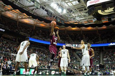 Texas Southern shocks No. 25 Michigan State 71-64, maybe the biggest upset in a year full of them