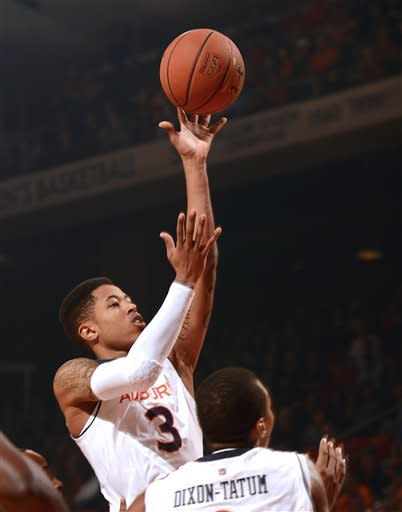 Henderson's FTs lift No. 23 Ole Miss over Auburn