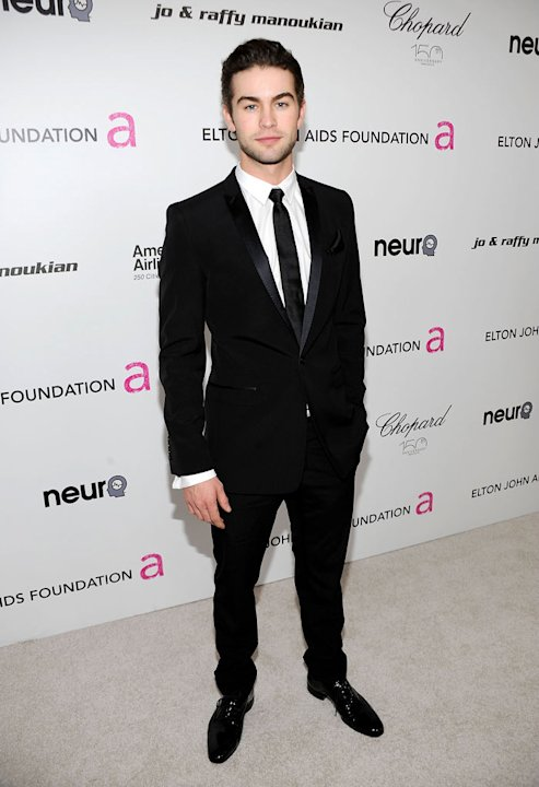 Chace Crawford attends the 18th Annual Elton John AIDS Foundation Academy Award Party at Pacific Design Center on March 7, 2010 in West Hollywood, California.